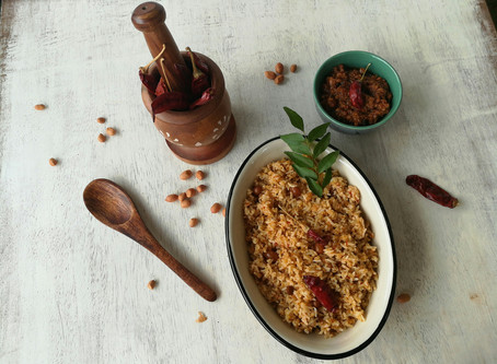How to make Puliyogare - Step by step recipe