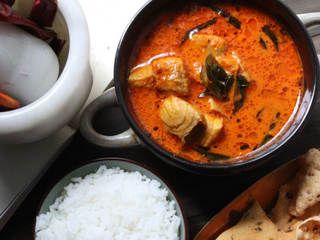 Fish Curry - Kerala Style