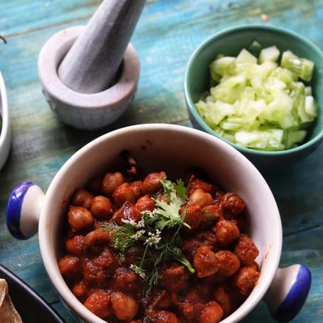Punjabi Chole Masala -Chickpea Gravy