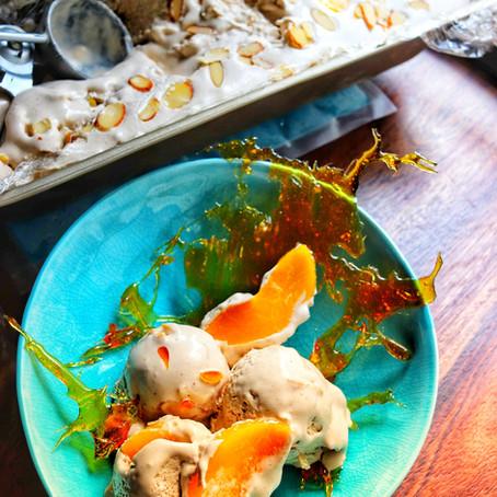 Peach Cobbler Ice Cream Recipe