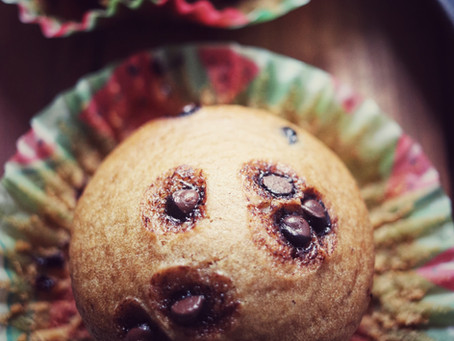 Eggless Vanilla Muffins