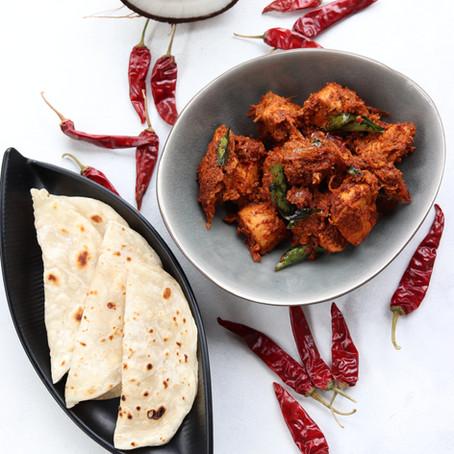 Mangalorean Chicken Sukka Recipe