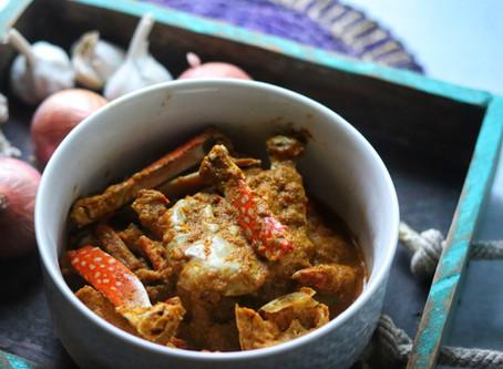 Homestyle Crab Masala