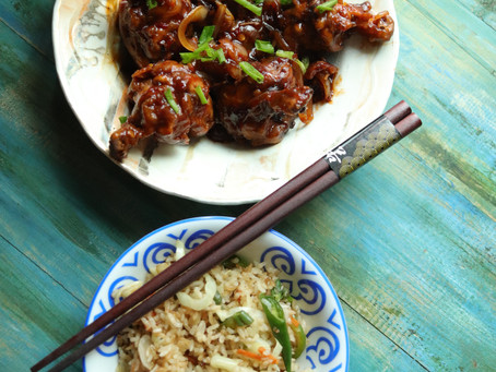 Chicken Lollipops - Chinese Style