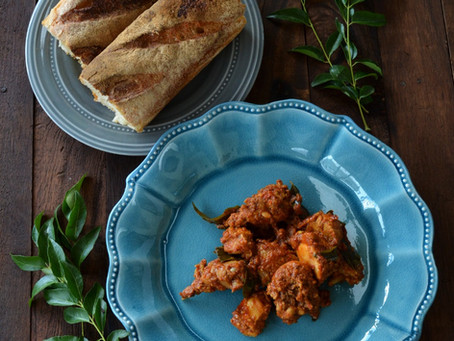 Spicy Chettinad Style Chicken
