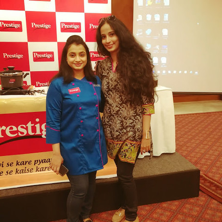 Prestige TTK Cookoff with Chef Shazia Khan