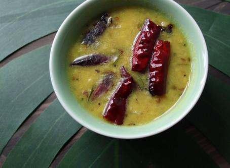 Vahrun - Maharashtrian Dal Recipe
