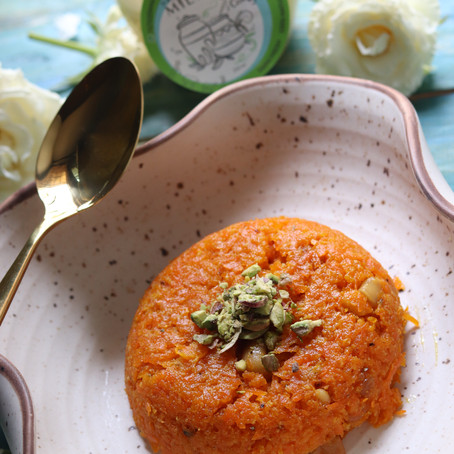 Gajar Halwa - Indian Carrot Pudding Recipe