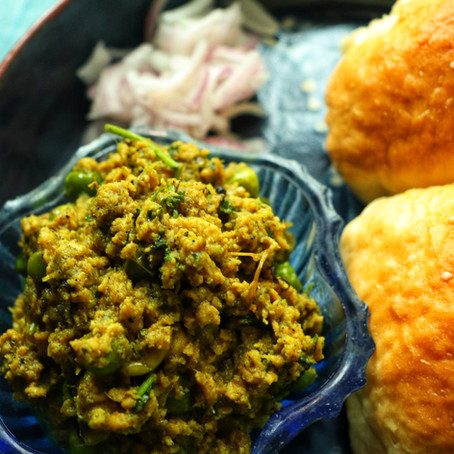 Kheema Pav (Kali Mirch Kheema recipe)