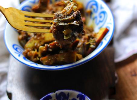 Kerala Style -Mutton Pepper Roast