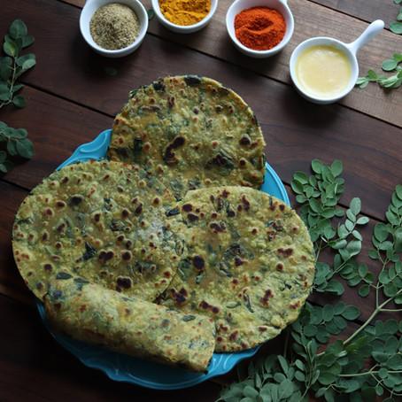 Moringa Thepla Recipe
