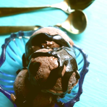 Chocolate & Liquor Ice cream - No Churn recipe