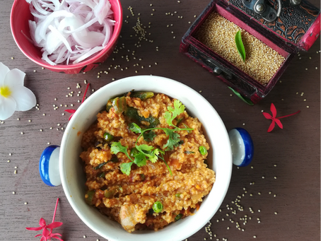 Foxtail Millet Rice - Pulav