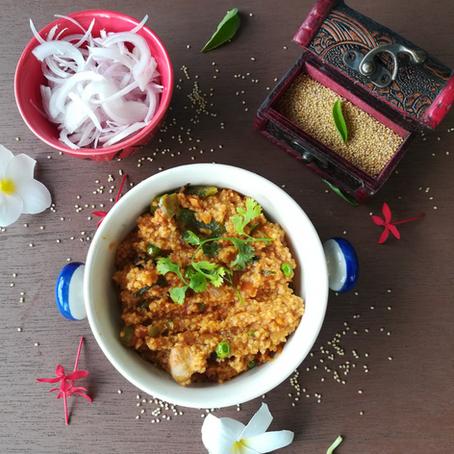 Foxtail Millet Rice - Pulav