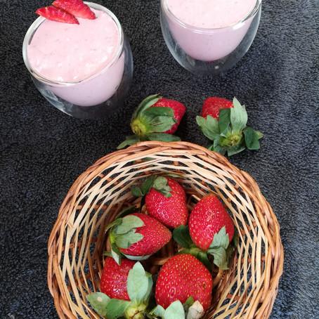 Thick Strawberry Milkshake