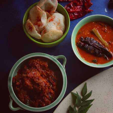 Kari Masala Poriyal - Spiced Mutton