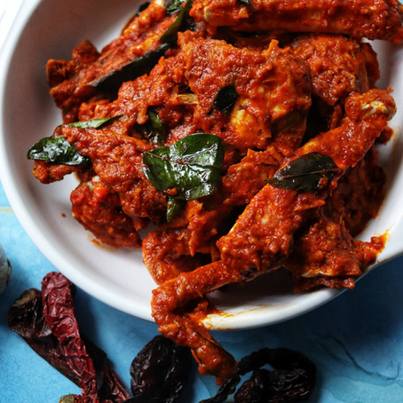 Crab Ghee Roast