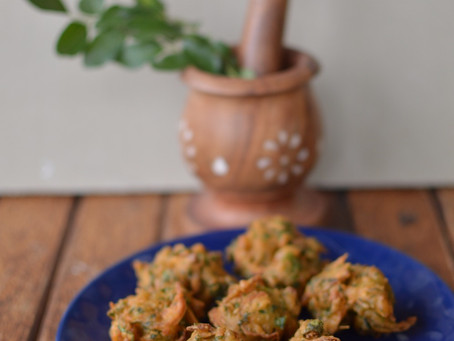 Methi Pakodas Recipe - Fenugreek leaf fritters
