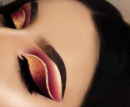 lined cut crease