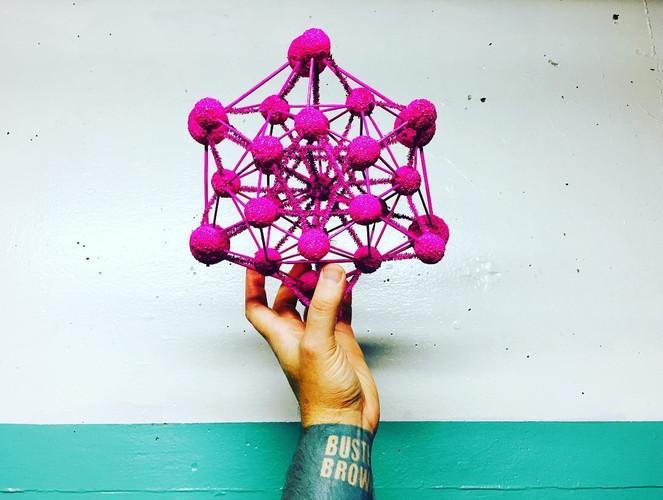 Space Ship Molecule