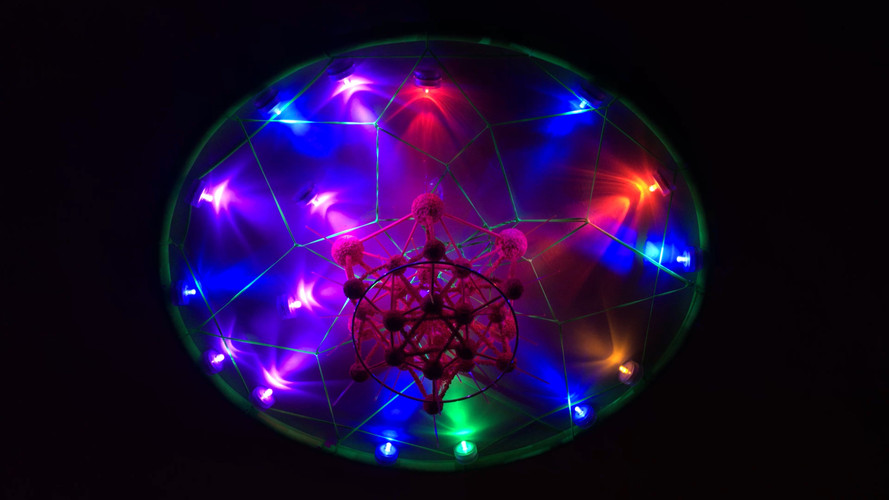 Space Ship Molecule (Gamma Ray Thruster)