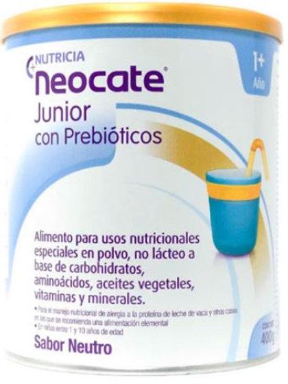 Neocate Junior Con Prebioticos sin sabor X 400grs.