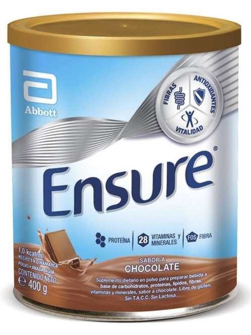 Ensure Polvo x 400 grs. sabor chocolate