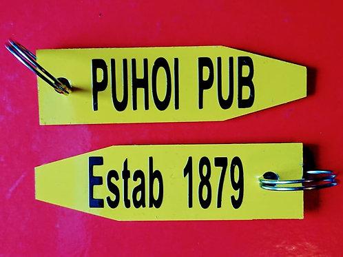 Puhoi Pub Key Ring