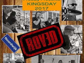 ROVED gaat weer spelen op Koningsdag!
