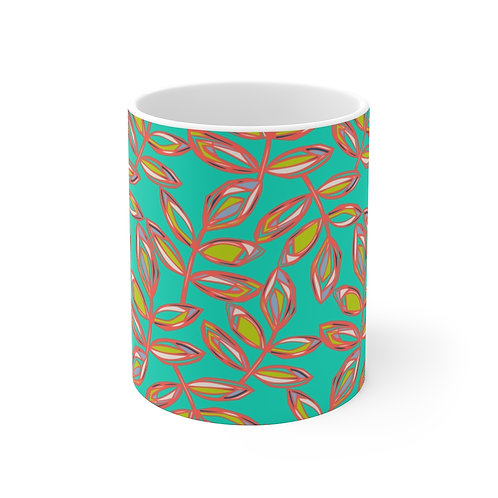11oz Mug | Blissful Walk | Jade