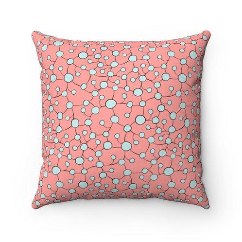 Square Pillow | Glistening Water | Margonite