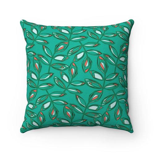 Square Pillow | Blissful Walk | Amazonite