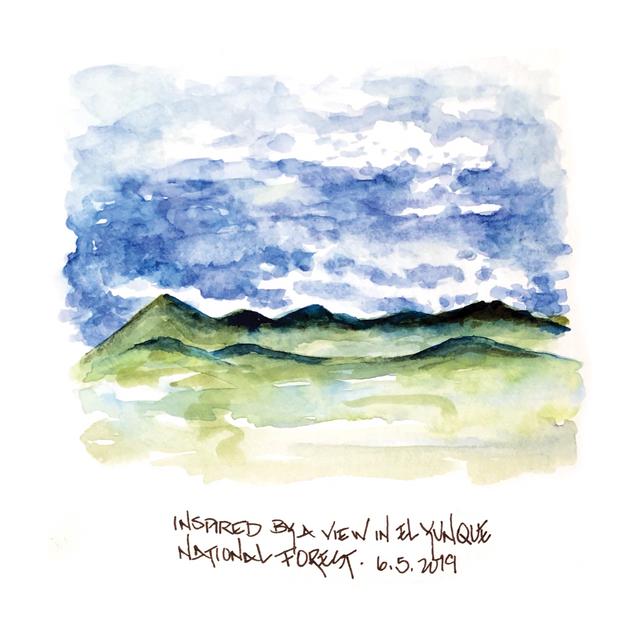 Blue Sky at El Yunque