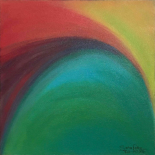 "Sunrise | 6"" x 6"" 