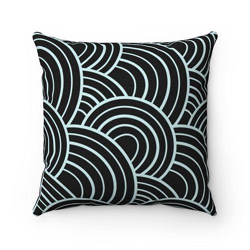Square Pillow | Glow of Light | Celestine