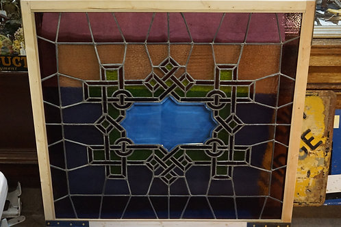 Stained Glass Window Ca 1920s