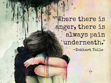 Working With Anger - Getting To What's Underneath