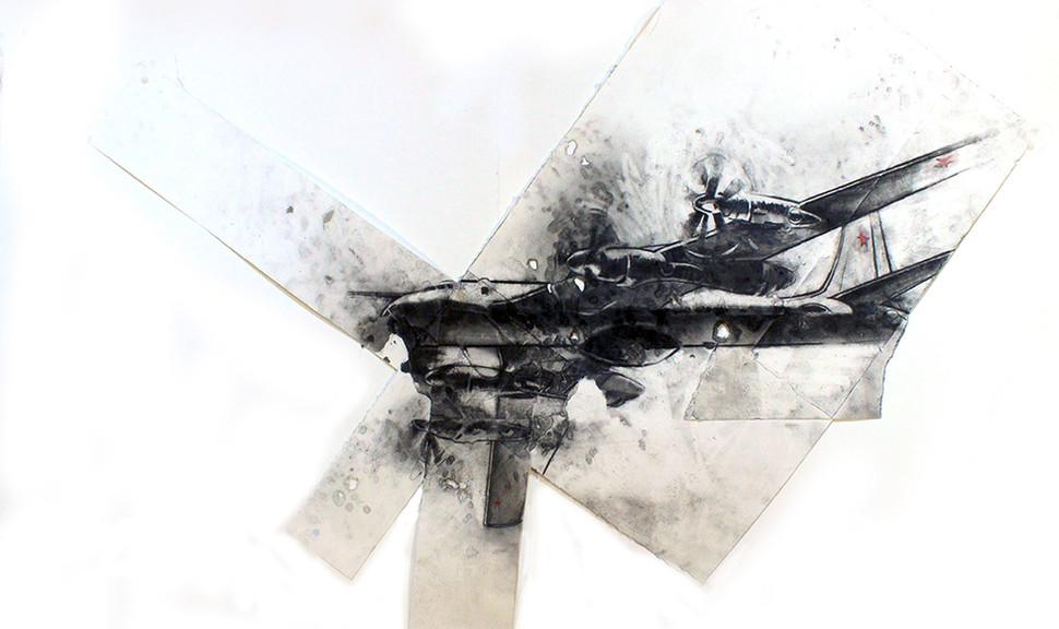 Circle Soviet Bomber detail