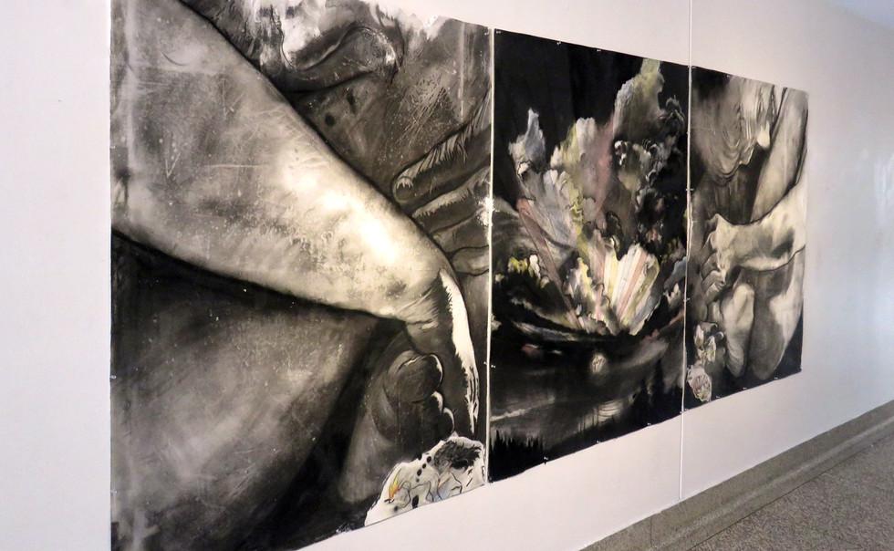 Flesh Conjuring Eternity, Installation Shot, Corridor Gallery.