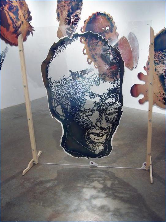 Actual Stencil for Jaimie Portrait