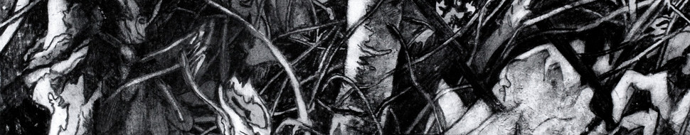 Detail, Rage Over Lost Keys, central panel