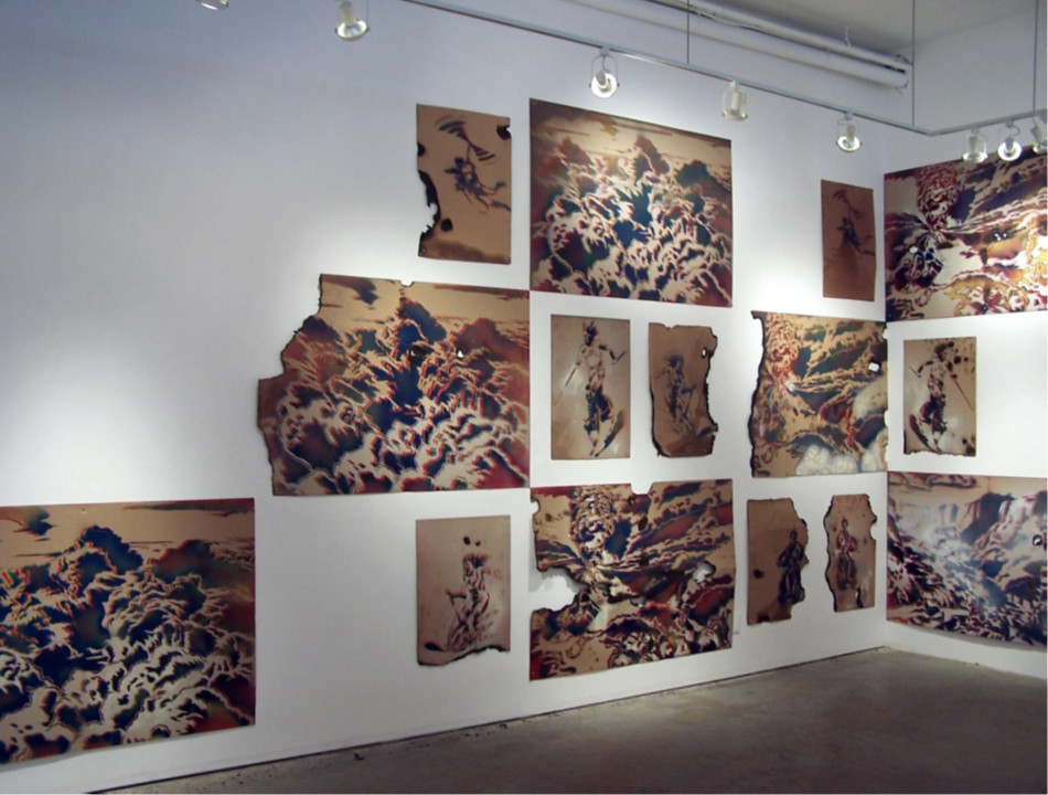 Future Past Perfect, Installation shot, David Kaye Gallery
