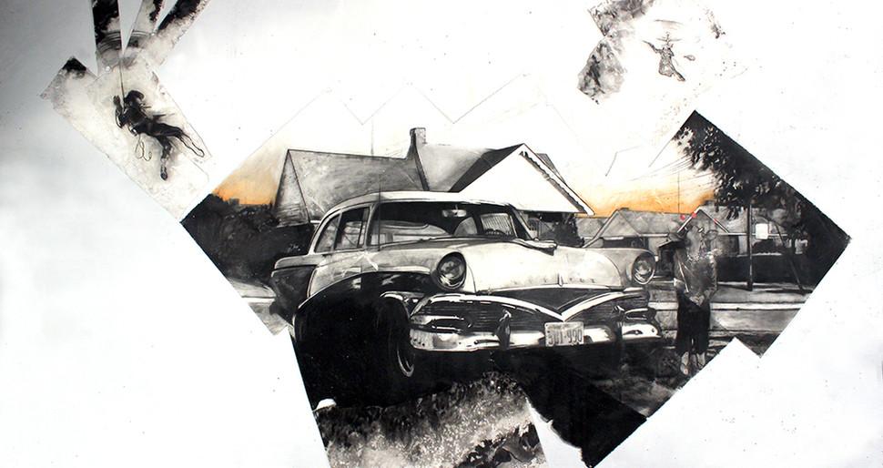Mercury Meteor 1956.