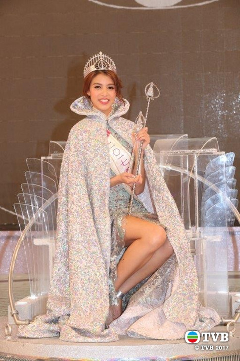 Miss Hong Kong 2017 - Crowned Winner