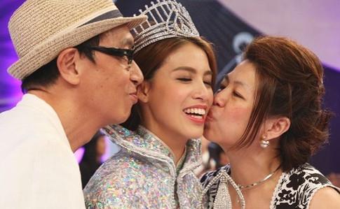 Miss Hong Kong 2017 - Juliette's Parents