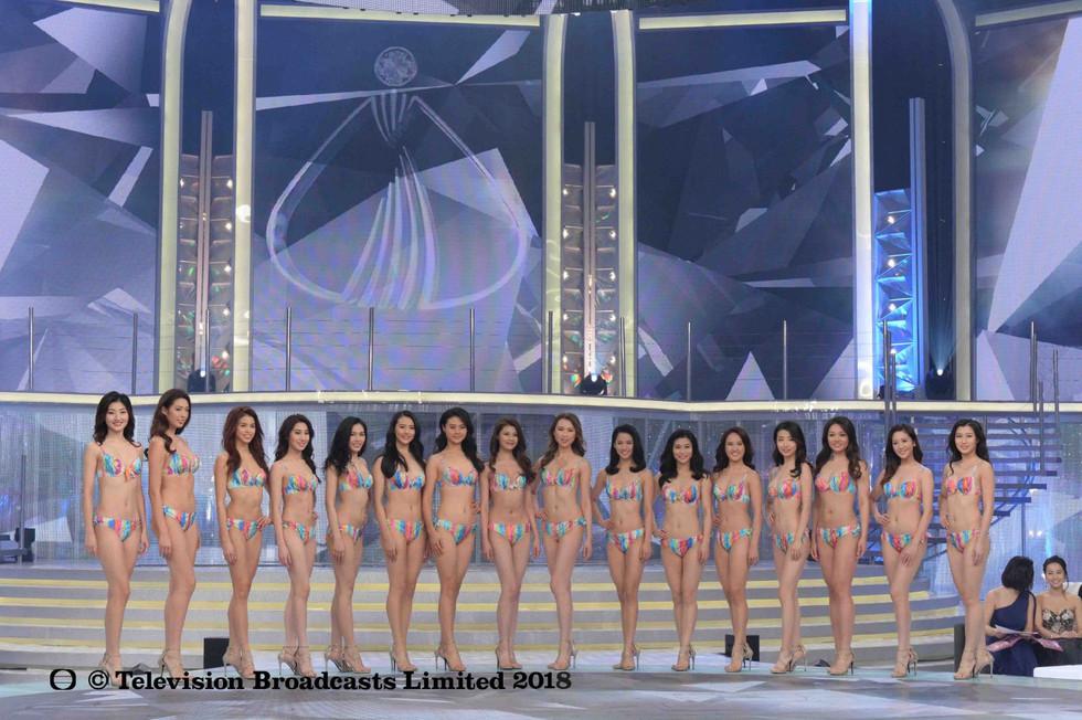 Miss Chinese International - Top 16 Bikini