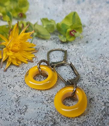 city boho - sweet for summer earrings - dandelions