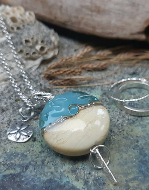 by the sea - pendant