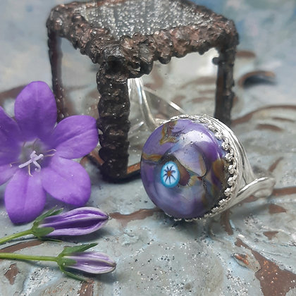 tradewinds - ring set in sterling