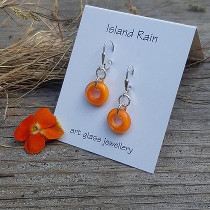 city boho - sweet for summer earrings - orange peel